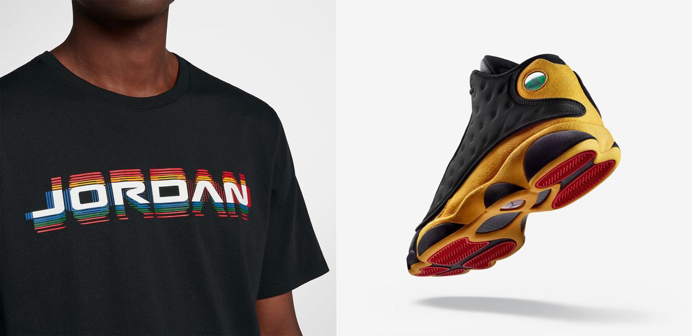 jordan-13-melo-sneaker-shirt-match