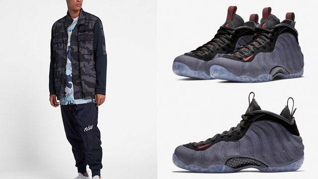 the best attitude 6d126 97f51 Nike Foamposite One Denim Clothing Match | SneakerFits.com
