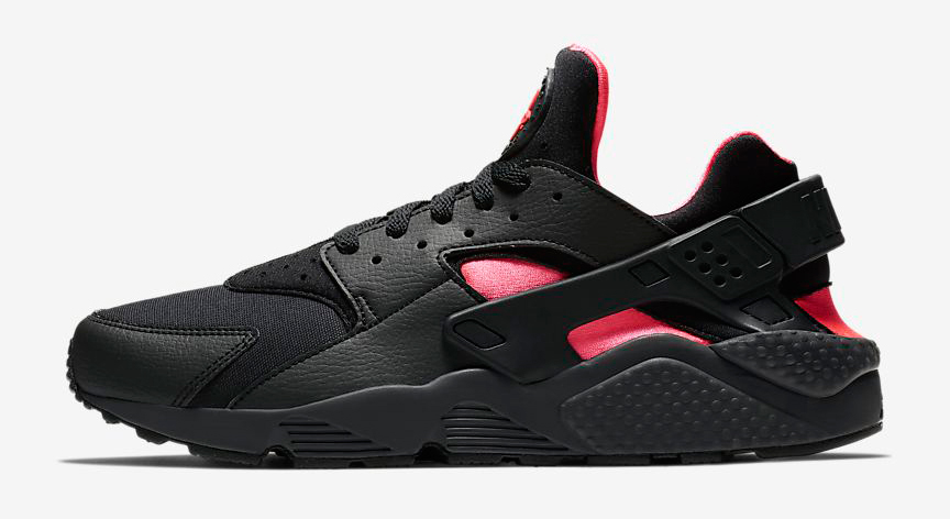 nike-air-huarache-black-solar-red-release-date