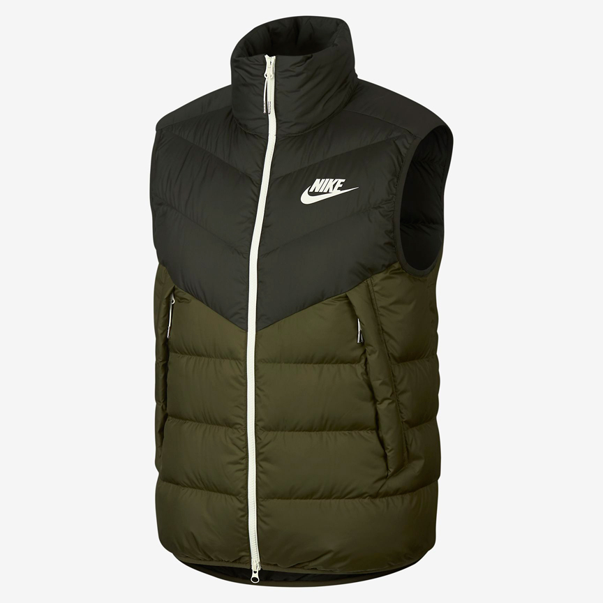 nike-air-max-270-olive-winter-windrunner-vest-jacket-match
