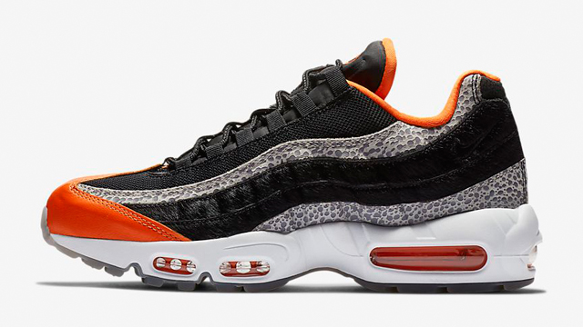"65f784a02b60 Nike Air Max 95 Available Now in Safety Orange ""Safari"" (Plus Matching Gear)"