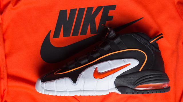 """on sale b294c 8d23e Anfernee Hardaway s debut signature shoe is back in a new colorway with the  arrival of the Nike Air Max Penny """"Total Orange"""". After popping up in the  royal, ..."""