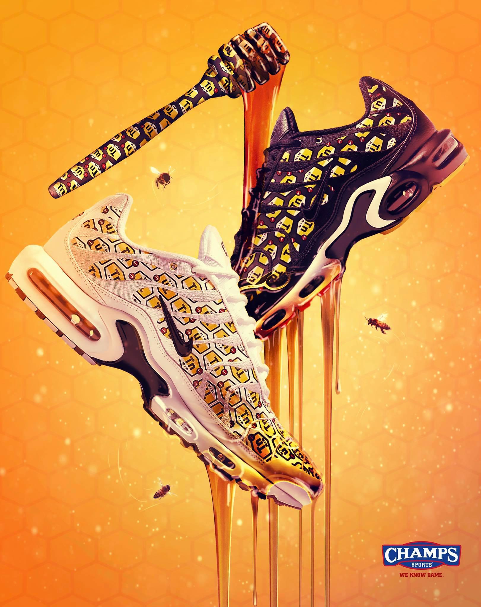 save off af753 ee92a Nike Air Max Plus Hive Sneaker Pack | SneakerFits.com
