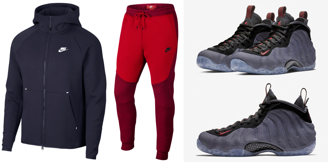 pretty nice e71a7 d42dc Foamposite Denim Nike Clothing to Match | SneakerFits.com