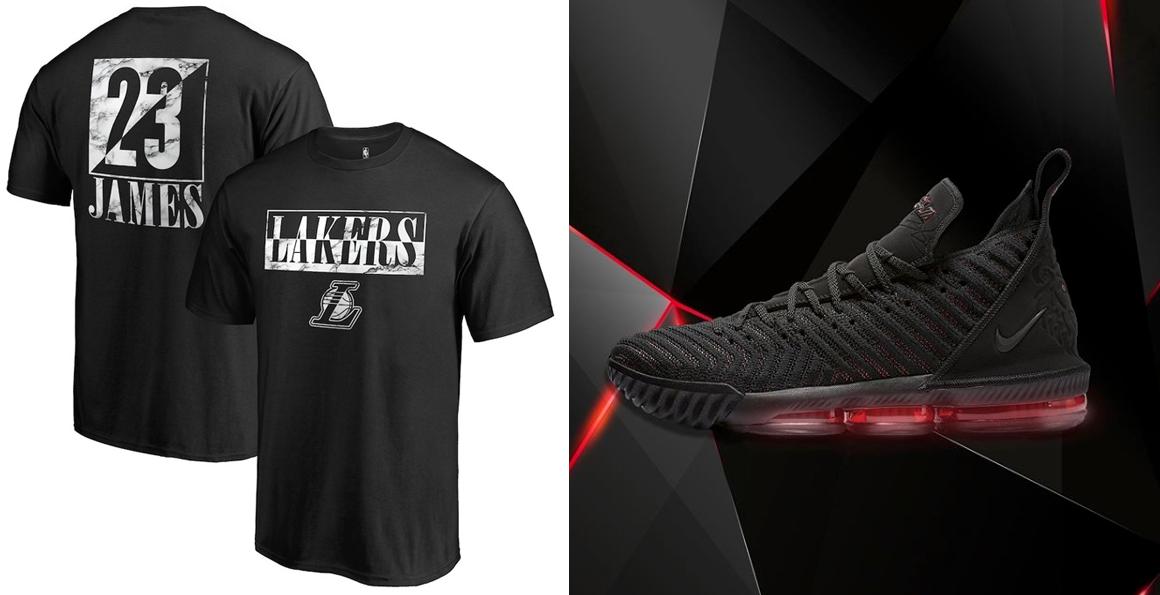 quality design 2fd35 96371 Nike LeBron 16 Fresh Bred Shirts to Match | SneakerFits.com
