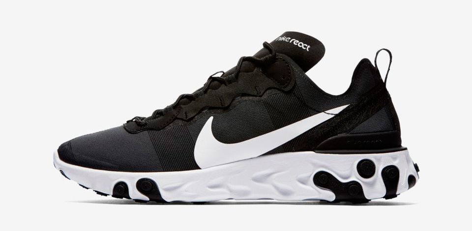 ead344103 nike-react-element-55-black-white-release-date. Release Date  September 29