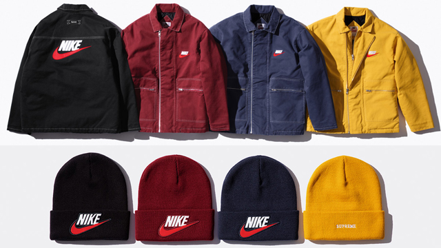 sports shoes aecd8 dd079 Supreme x Nike Fall 2018 Clothing Collection | SneakerFits.com