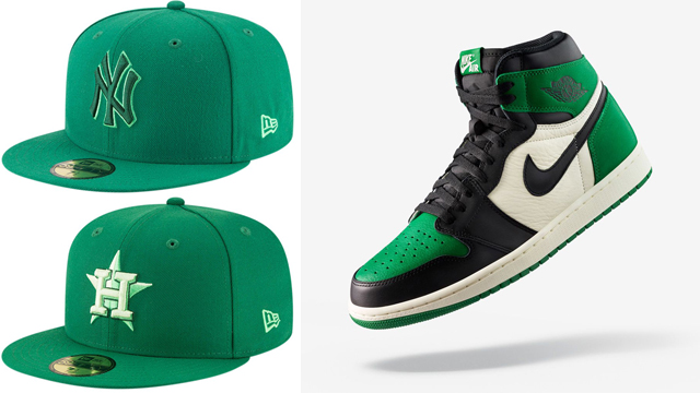 pine-green-jordan-1-hats-to-match