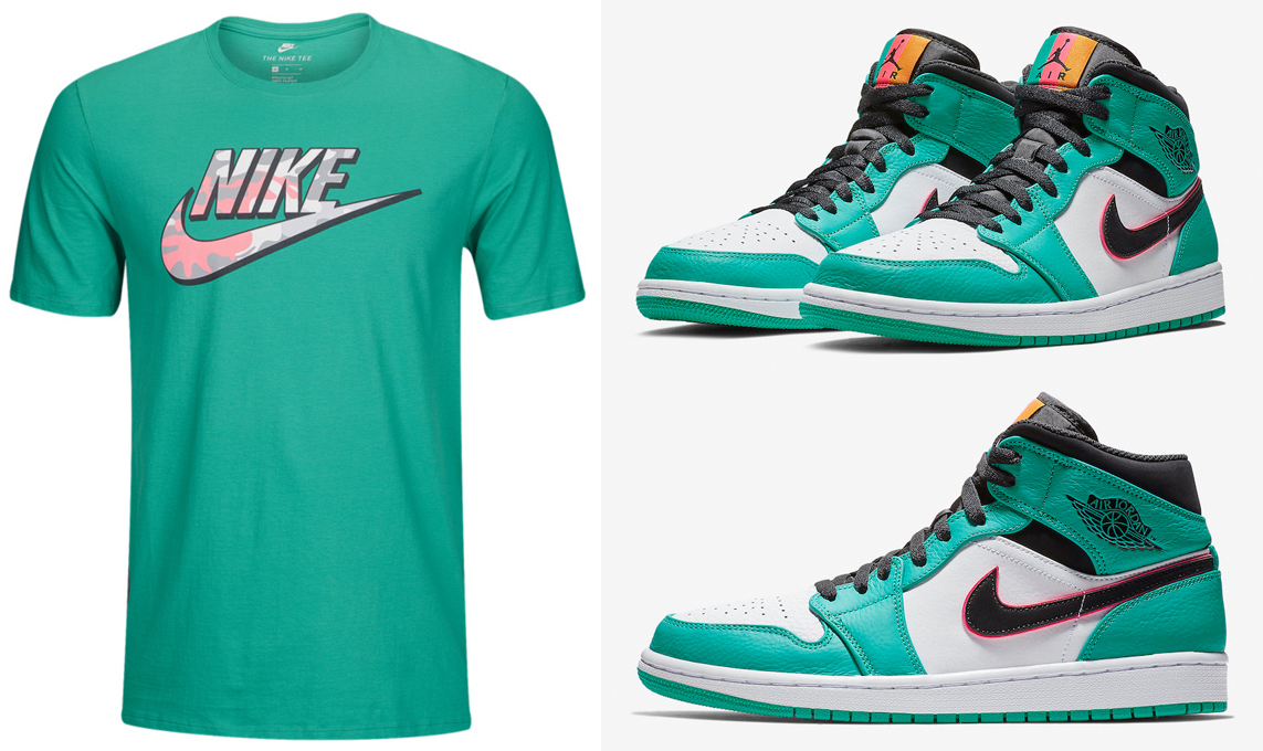 air-jordan-1-mid-south-beach-turbo-green-shirts