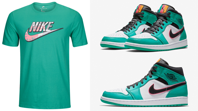 air-jordan-1-mid-south-beach-turbo-green-tees