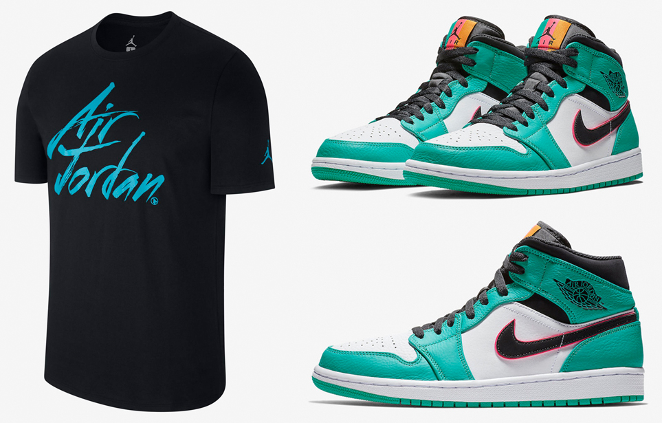 air-jordan-1-south-beach-t-shirt-match