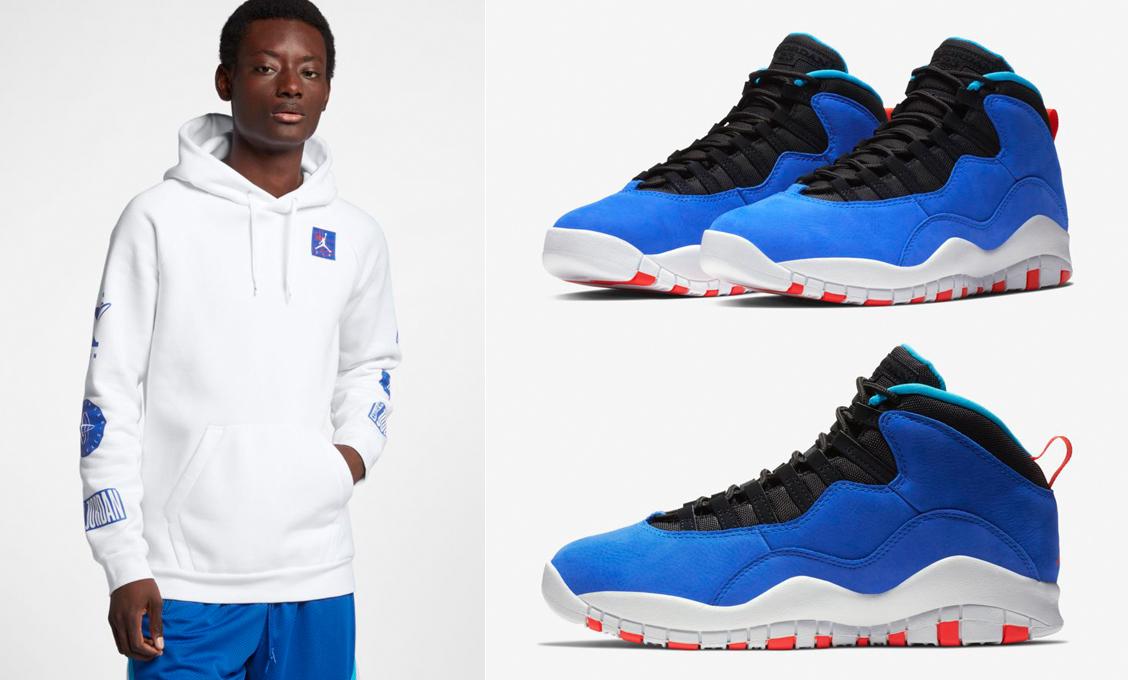 new product 6603e 86945 Air Jordan 10 Huarache Tinker Hoodie | SneakerFits.com