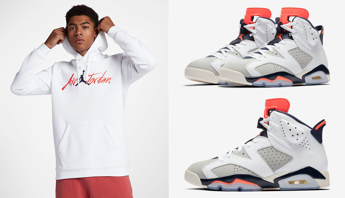 best sneakers 1d18d 171e1 Air Jordan 6 Tinker Clothing to Match | SneakerFits.com