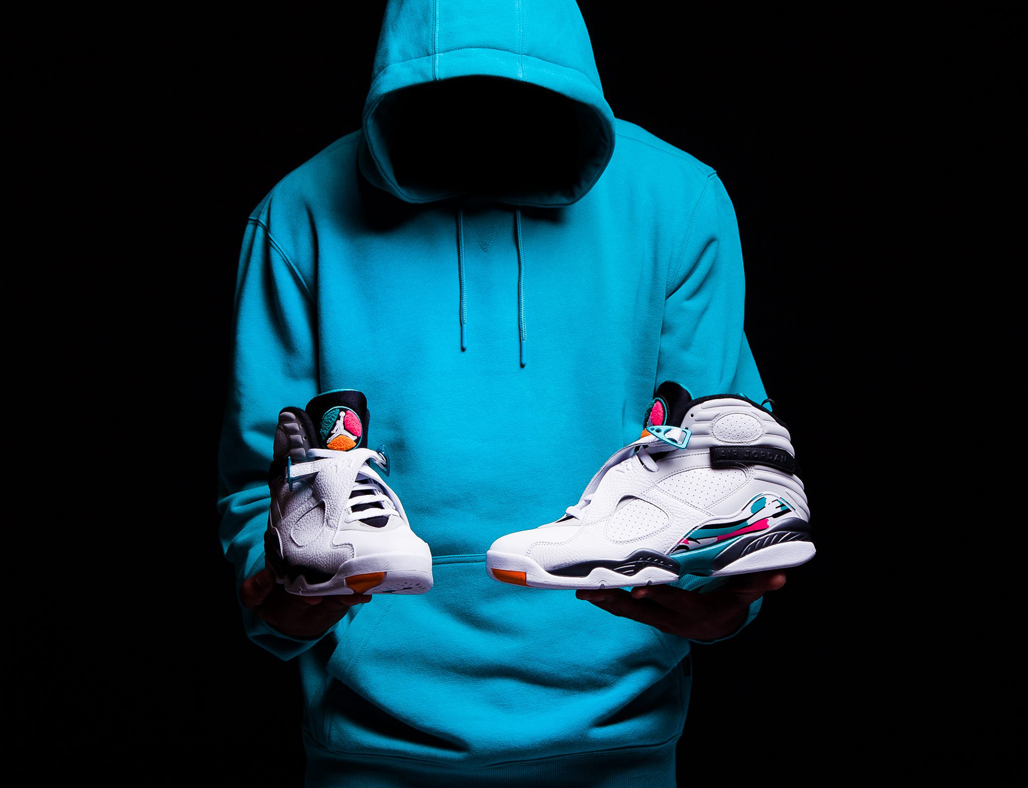 air-jordan-8-south-beach-hoodie-match