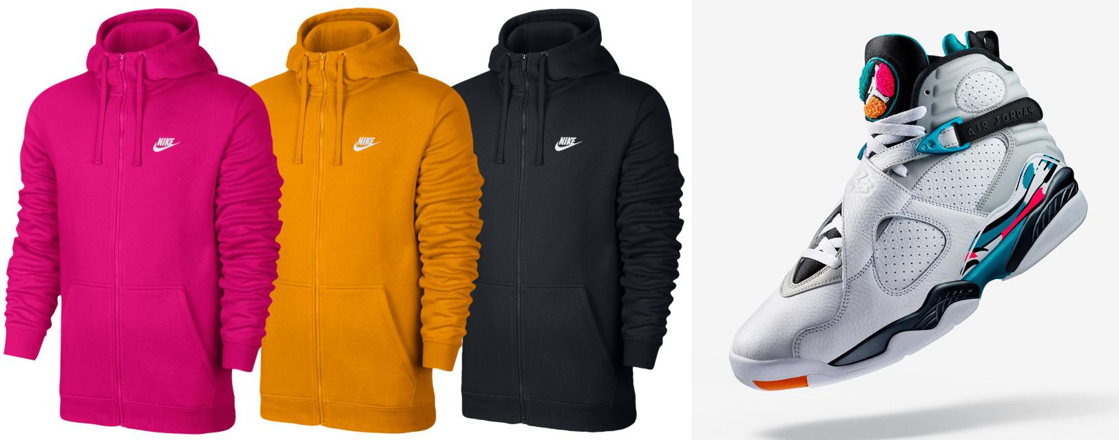 air-jordan-8-south-beach-nike-hoodies
