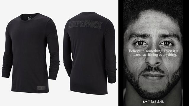 Colin Kaepernick Nike Just Do It Ad Shirt Sneakerfits Com