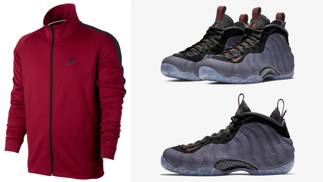 "f9fb0e9df16b Nike Air Foamposite One ""Denim"" x Nike Tribute Track Jackets to Match"