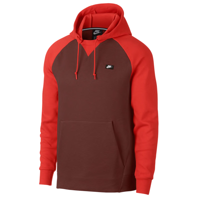 ecdd6740e05 Habanero Red Foamposites Hoodie Match