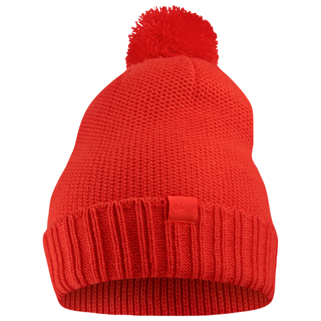 habanero-red-foamposite-nike-knit-hat-beanie-match-1