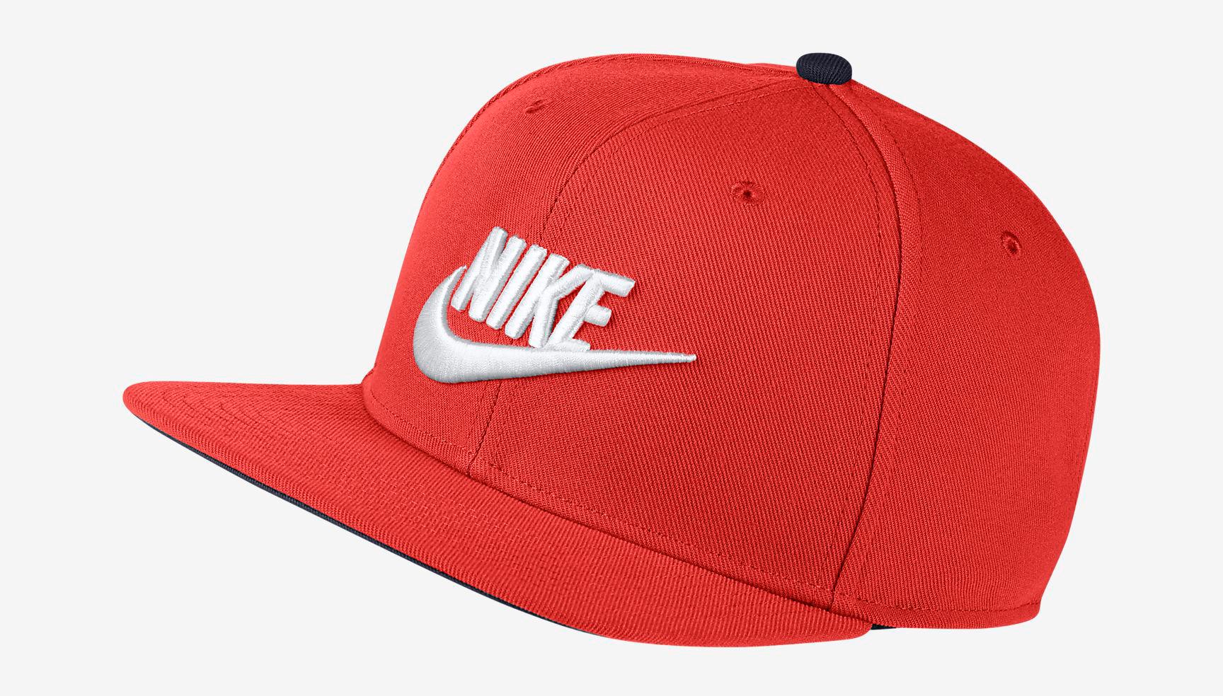 habanero-red-foamposite-nike-snapback-cap-1