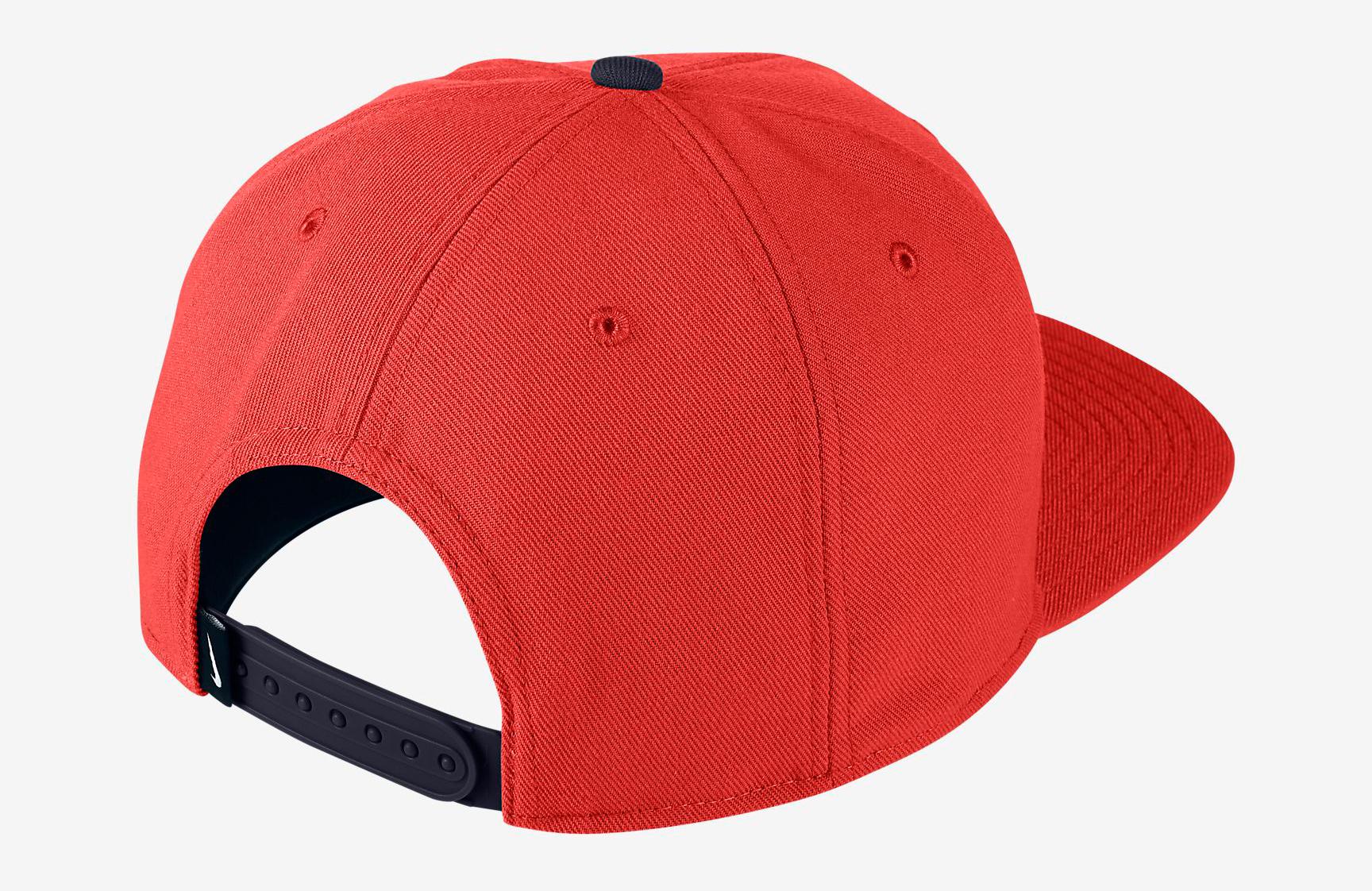 habanero-red-foamposite-nike-snapback-cap-2