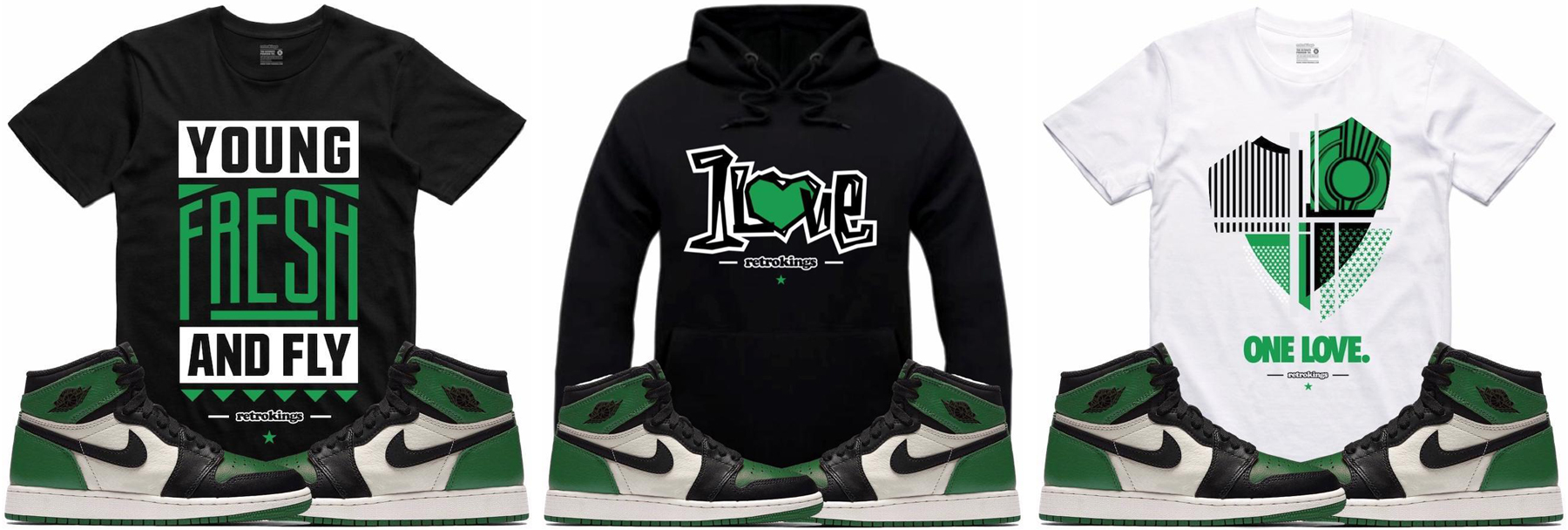 jordan-1-pine-green-sneaker-shirts-retro-kings