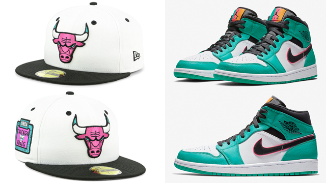 jordan-1-south-beach-bulls-hat
