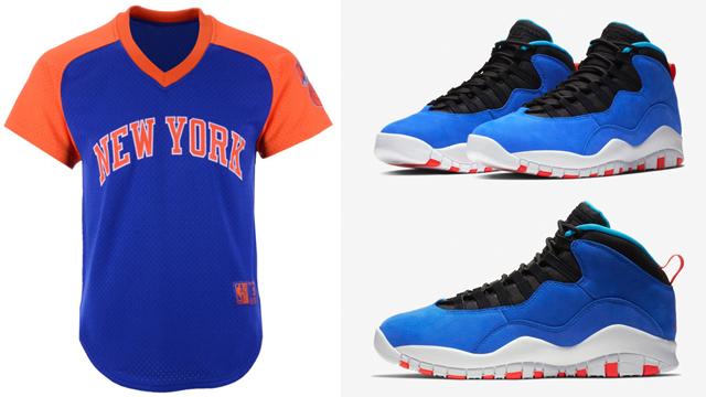 Jordan 10 Tinker Huarache Knicks