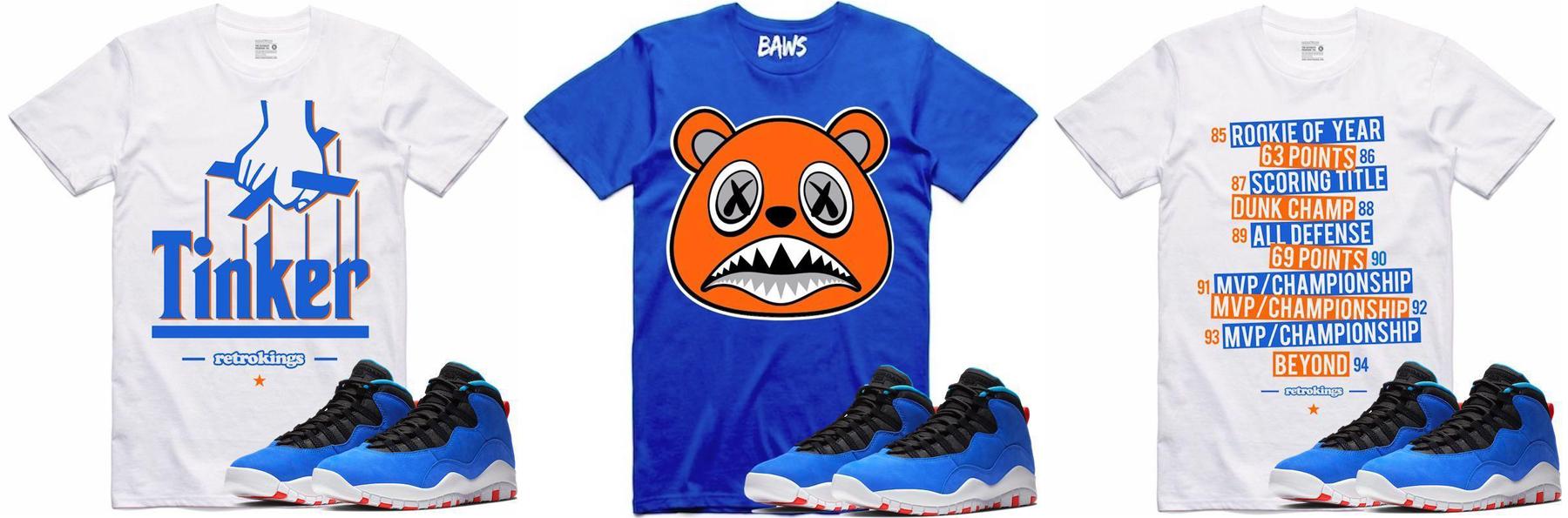 ad31ff10537 Jordan 10 Tinker Huarache Sneakers Shirts | SneakerFits.com
