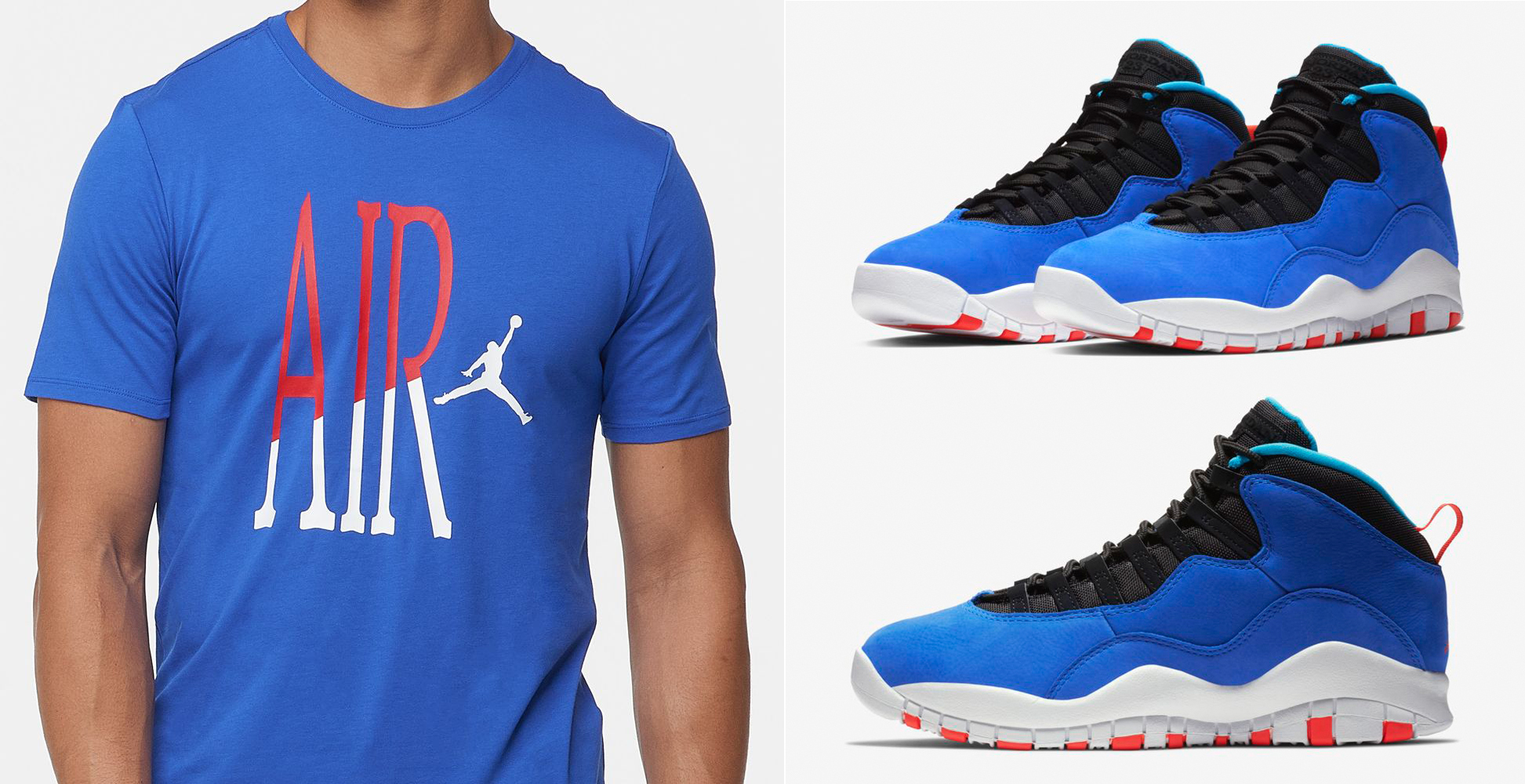 huge discount 5c8d8 a6bb1 Air Jordan 10 Tinker Huarache Light Shirt | SneakerFits.com