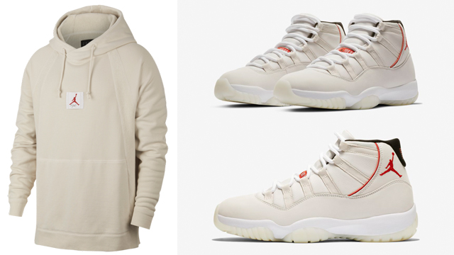 cheap for discount f22fd c4235 Air Jordan 11 Platinum Tint Clothing Match | SneakerFits.com