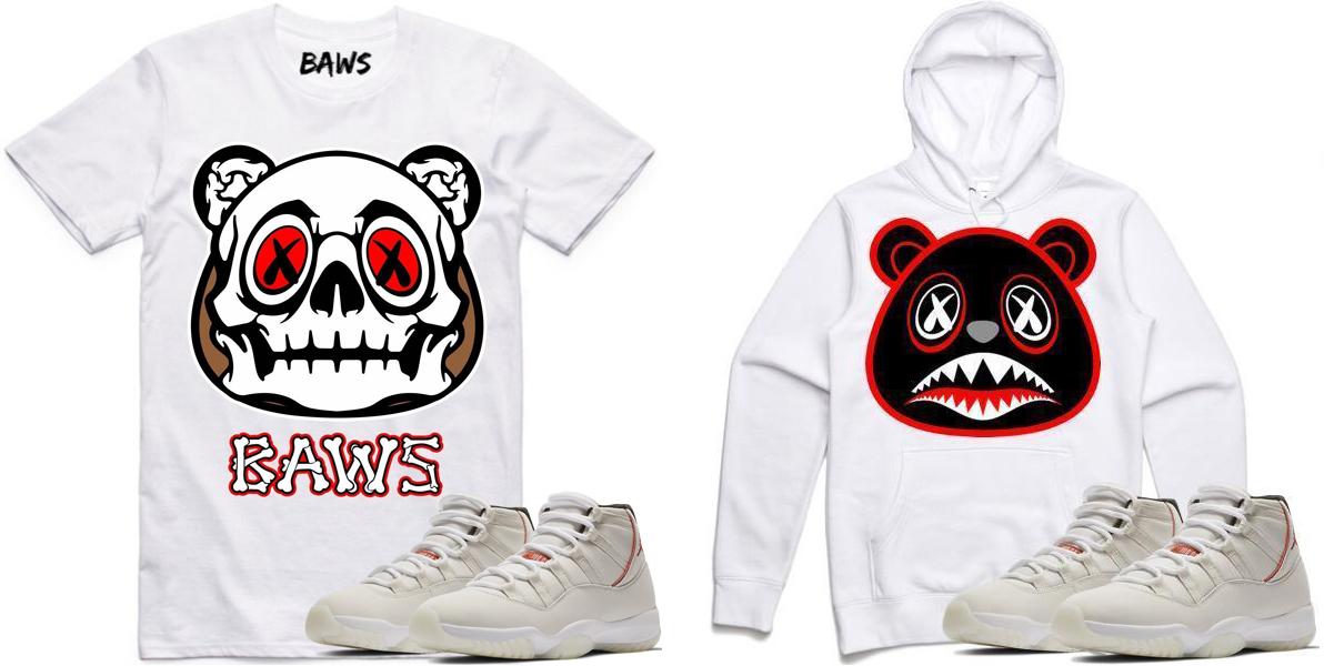 """ba6a525c21a77c Air Jordan 11 """"Platinum Tint"""" x BAWS Sneaker Shirts and Hoodies"""
