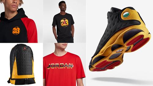 jordan-13-melo-clothing-shirts-hats-match