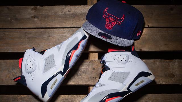 "dbf133f1c66 New Era Chicago Bulls Retro 6 Snapback Cap to Match the Air Jordan 6 ""Tinker """