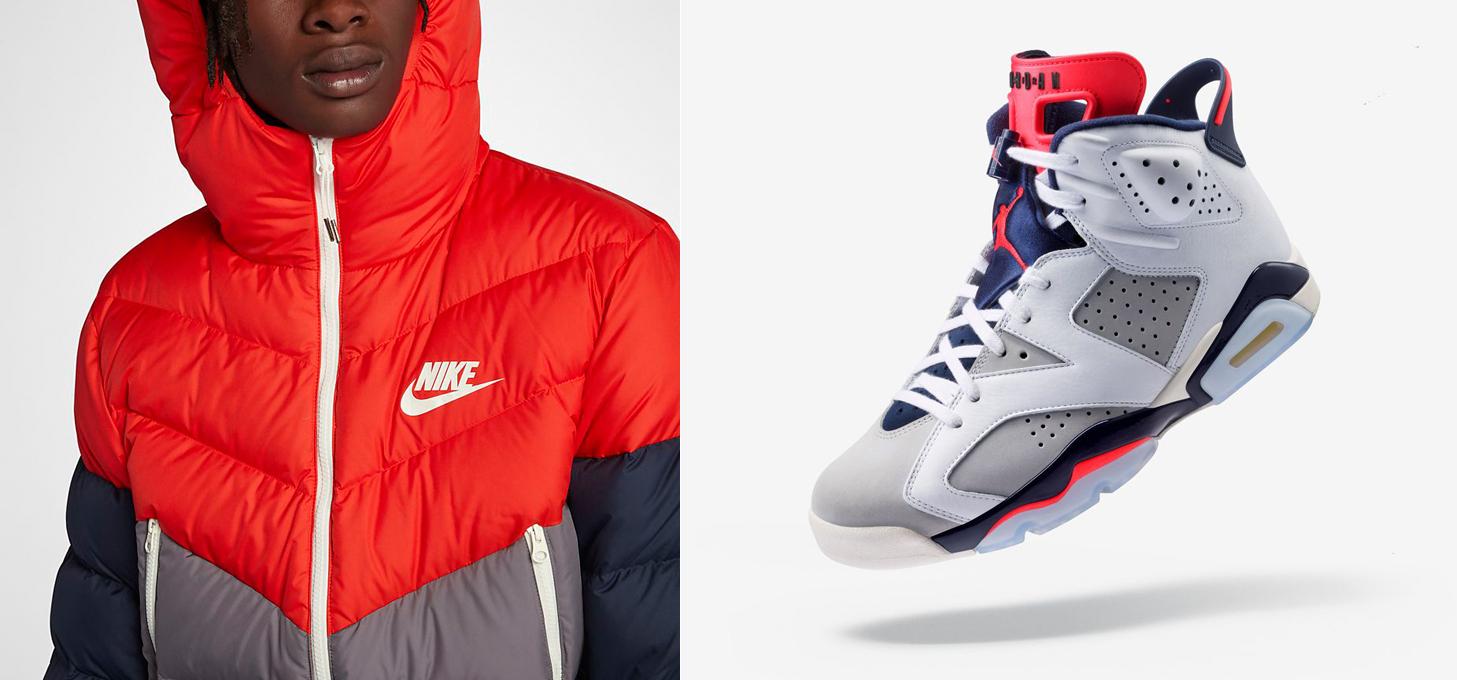 Air Jordan 6 Tinker Nike Jacket Match |