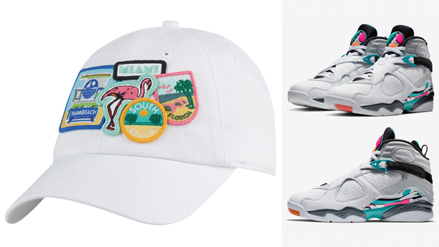 jordan-8-south-beach-cap-match