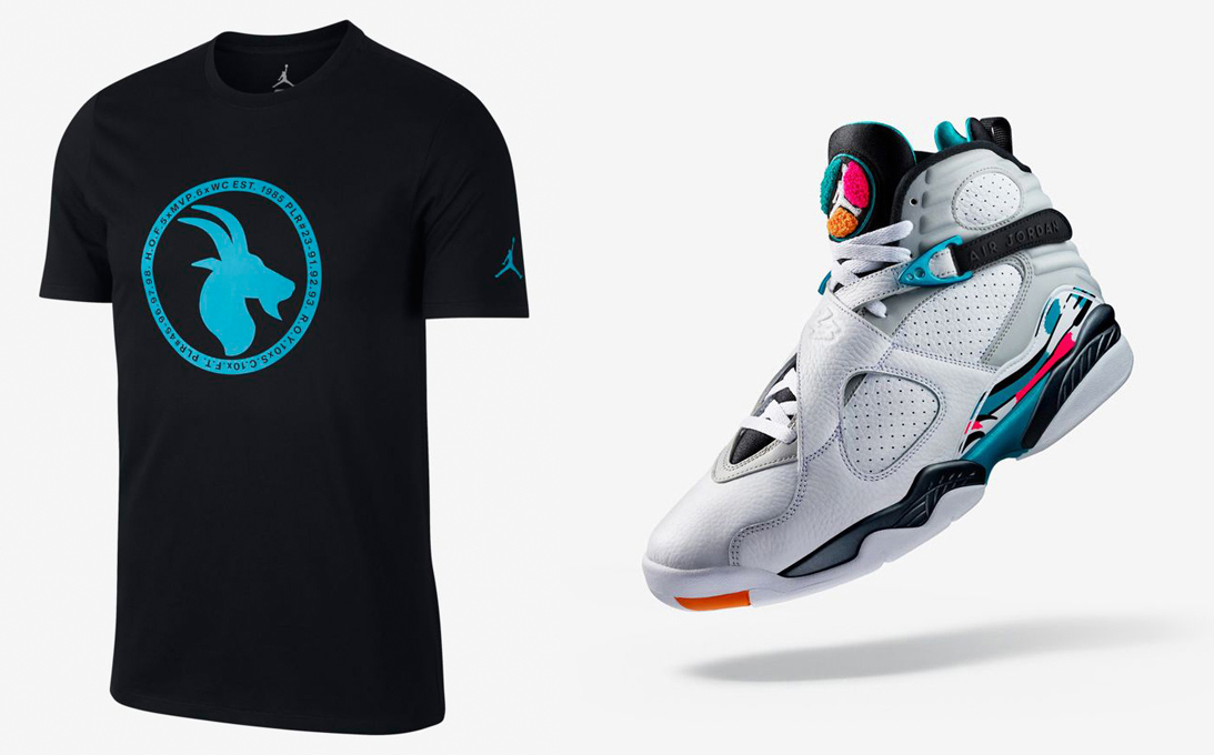jordan-8-south-beach-goat-turbo-green-shirt