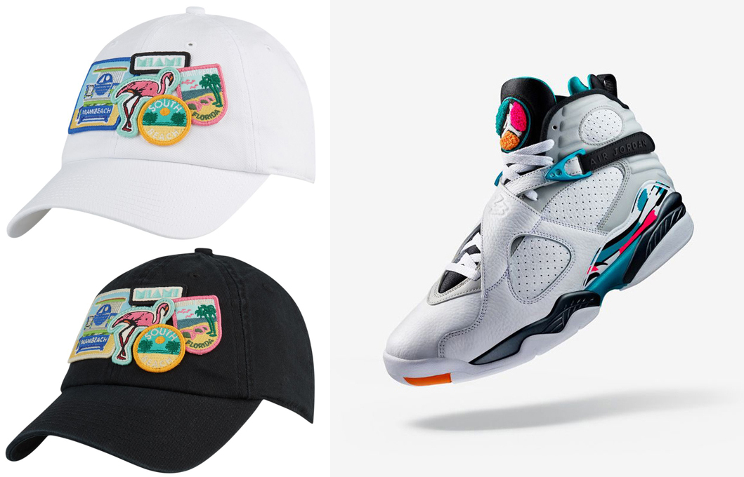 jordan-8-south-beach-hat-match