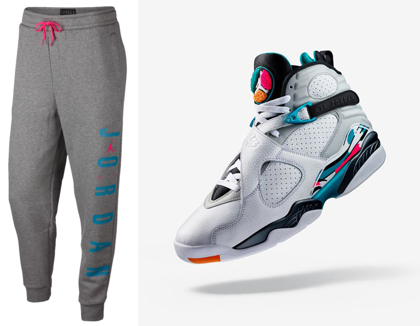 low priced 8210e f1c1c jordan-8-south-beach-jogger-pants