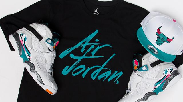 super popular ad85a d92cf Jordan 8 South Beach Shirt and Hat Match | SneakerFits.com