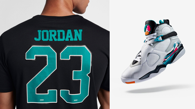jordan-8-south-beach-turbo-green-shirt
