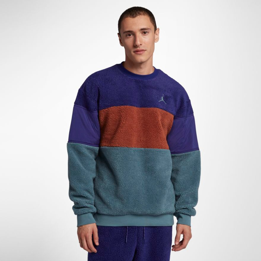 6b9a5cf807bc02 jordan-sherpa-sweatshirt-purple-orange-teal-2