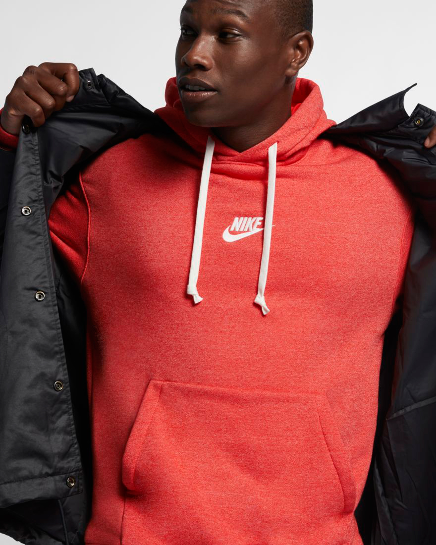 782b563e60e5f nike-air-foamposite-one-habanero-red-hoodie-match-