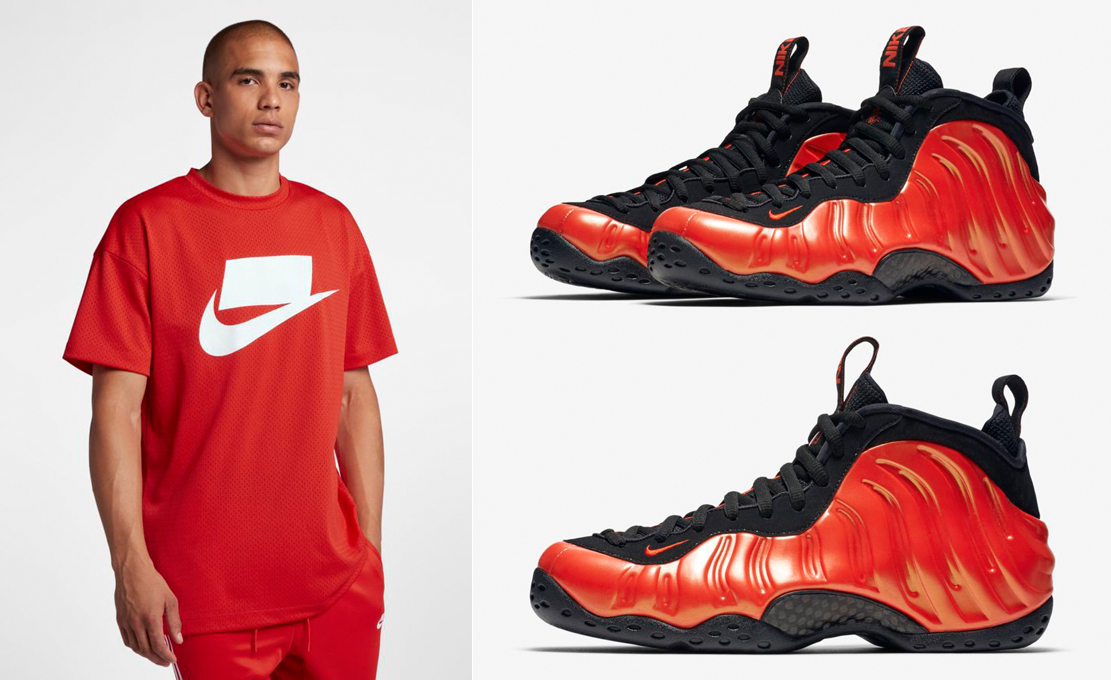 nike-air-foamposite-one-habanero-red-shirt-match