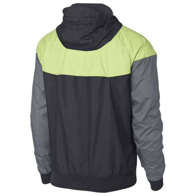 nike air max 95 og neon volt windrunner jacket 2