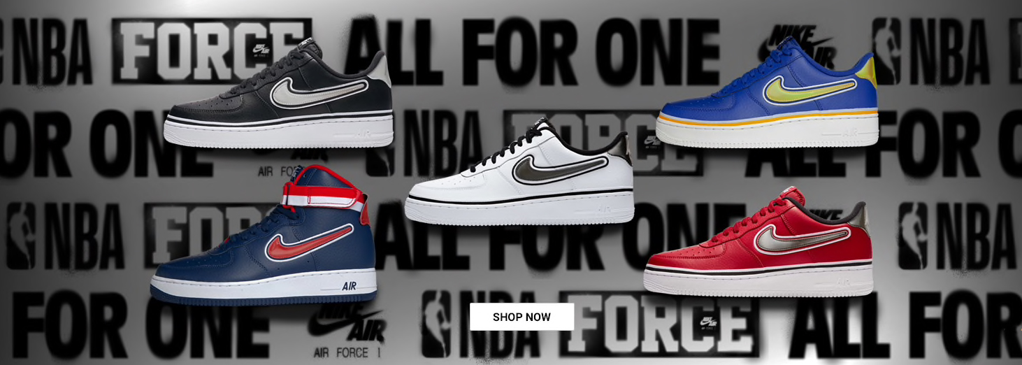 Nike Air Force 1 NBA Shoes Where to Buy | SneakerFits.com