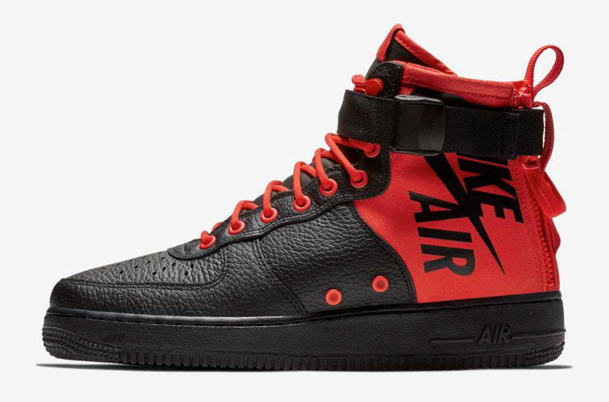 nike-sf-air-force-1-mid-habanero-red-black-release-date