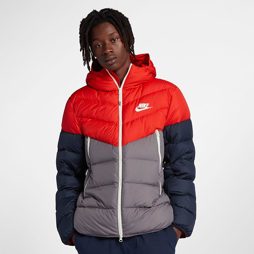 nike-windrunner-down-fill-jacket-red-grey-white-2