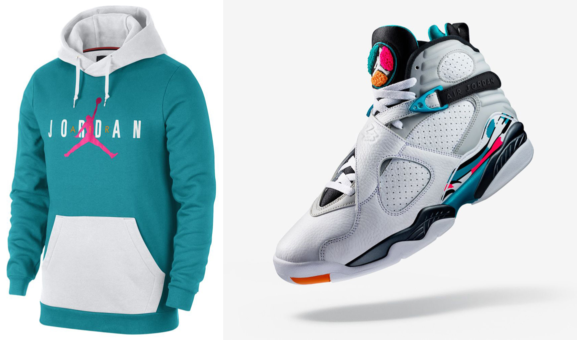 south-beach-air-jordan-8-hoodie