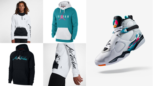 south-beach-air-jordan-8-hoodies